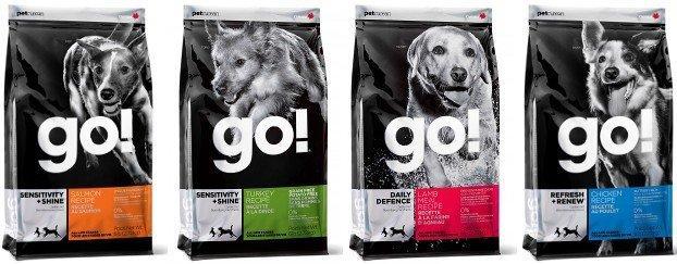 Линейка продукции для собак от компании Go