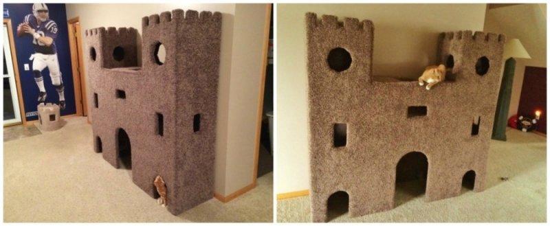 Замок для котов своими руками